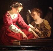 Gentileschi's Santa Cecilia